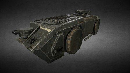 Vehicle Alien II M577APC 3D Model