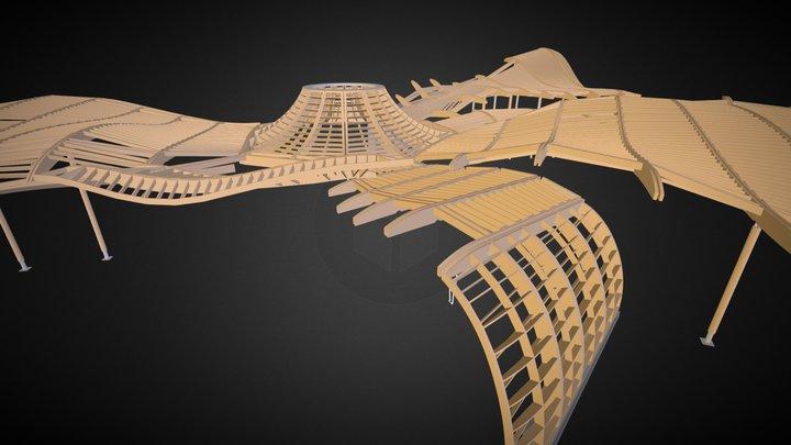 VanDusen Botanical Gardens Visitor Centre 3D Model