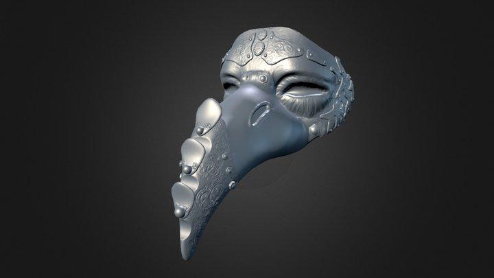 Mask Venice 3D Model