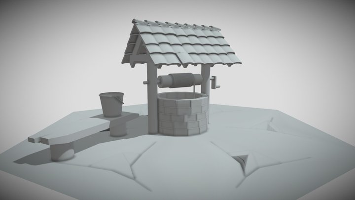 колодец 3D Model