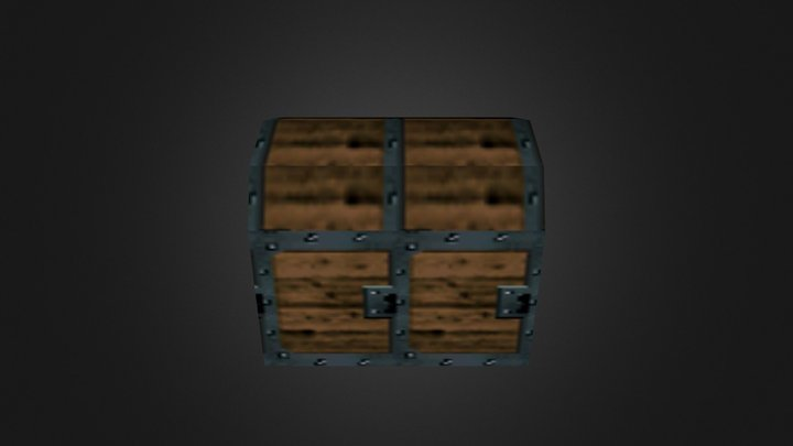 OOT Big Treasure Chest 3D Model