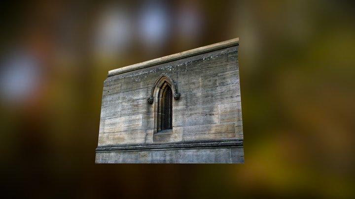 Ramshorn Theatre Glasgow Window Detail 3D Model