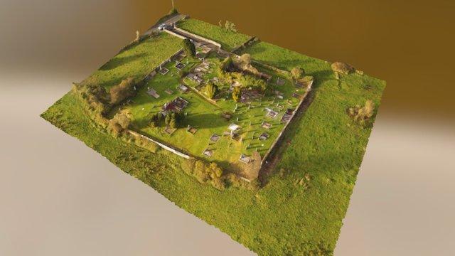 Kilbeacanty Graveyard 3D Model