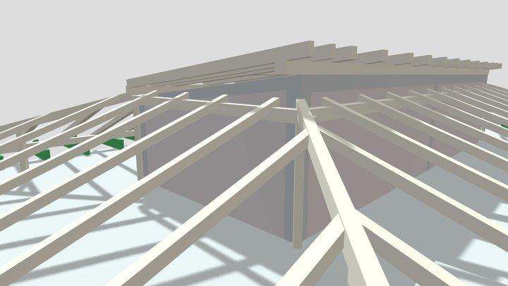 Balatonvilágos szerkezeti modell 3D Model