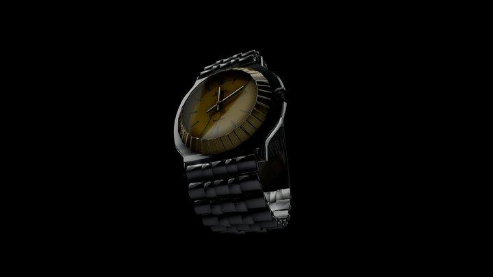 Simple Rolex Watch (Test) 3D Model
