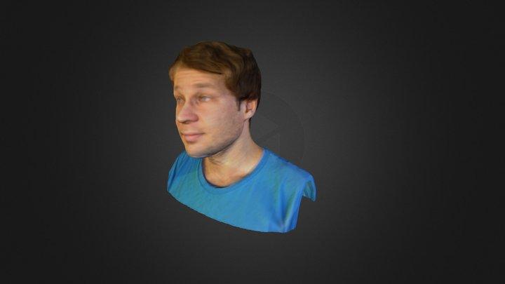 Michael's head 3D Model