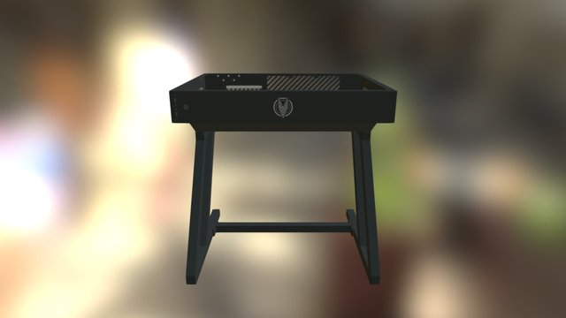 Vector Desk MINI 3D Model