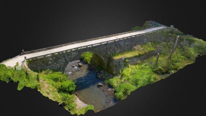 八勢眼鏡橋 3D Model