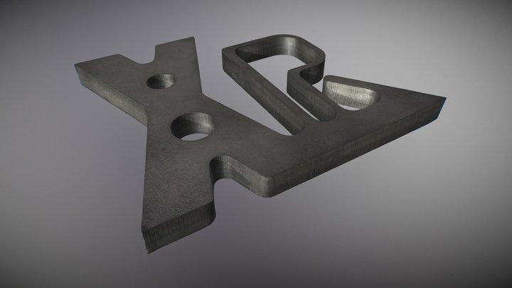 XPR300 - Образец резки низкоуглеродистой стали (RU)
