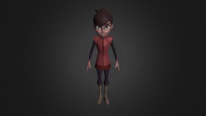 Character_Suri 3D Model