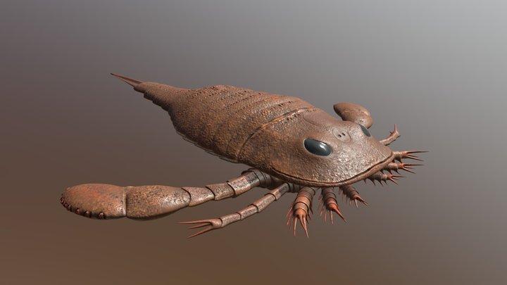 Eurypterus remipes 3D Model