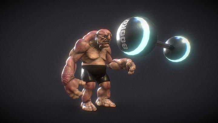 Sci-Fi Circus: Strong Mind Of The Erendiz 3D Model