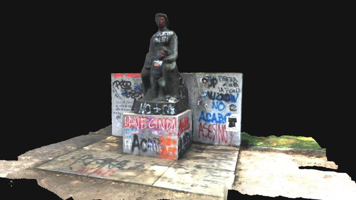 Homenaje Al Doctor Calvo Mackena 3D Model