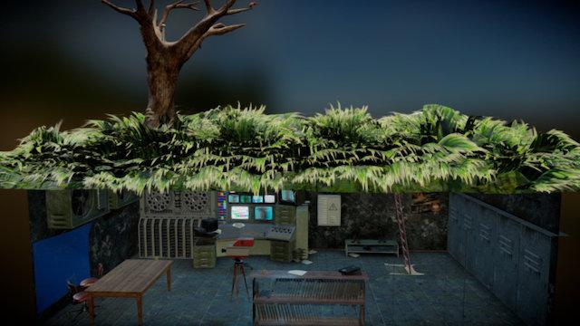 Underground Bunker - Download Free 3D model by Bohdan Lvov ...