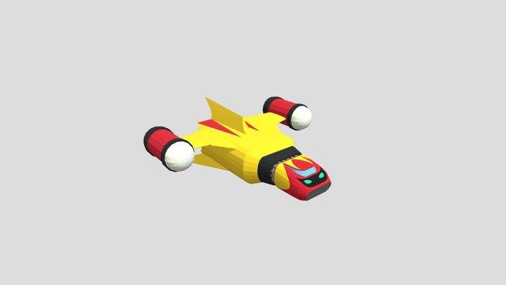 Daikessen - Getter Machine Poseidon 3D Model