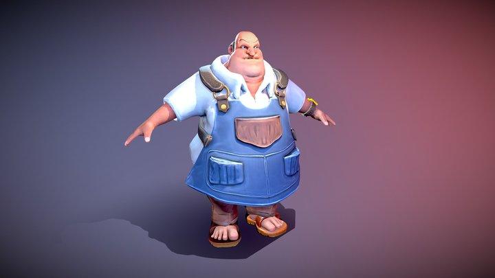 Mr Wonga 3D Model