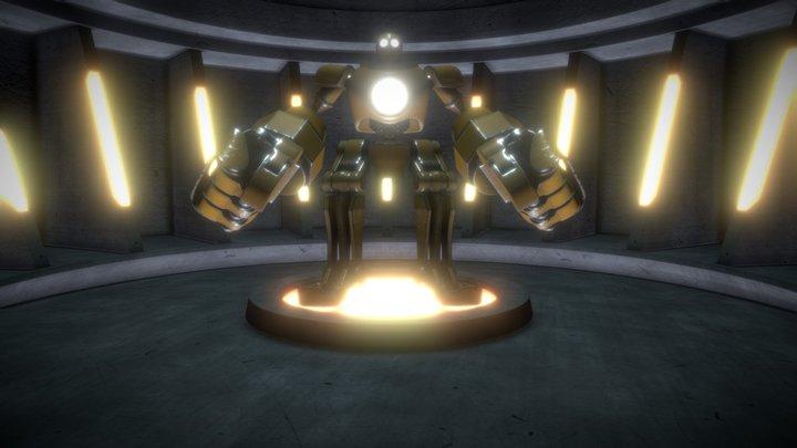 Blitzcrank mk 1 3D Model