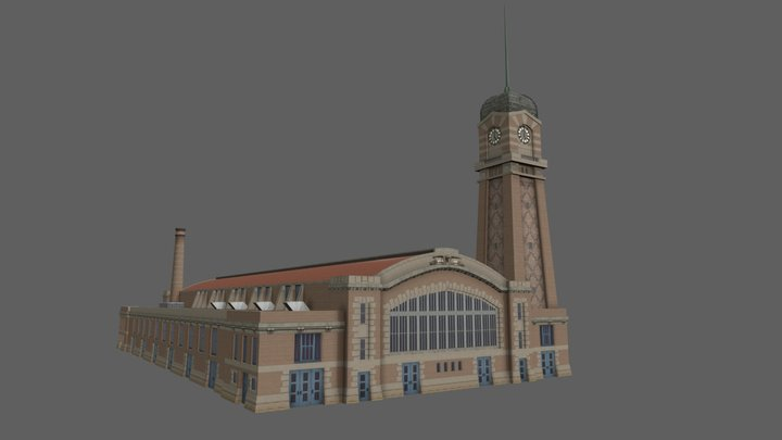 West Side Market 3D Model