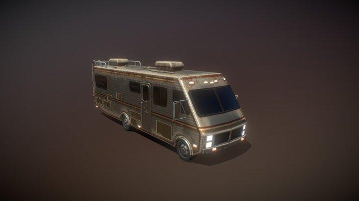 Breaking Bad RV 3D Model