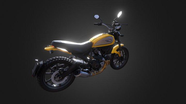 Ducati Scrambler Icon 2015 3D Model