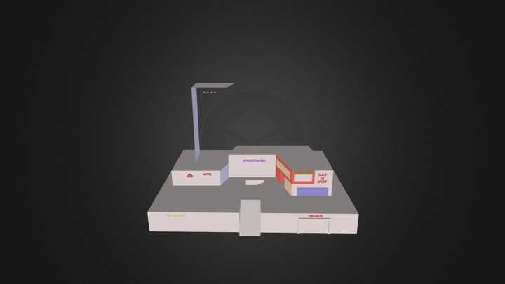 Centrevisu 3D Model