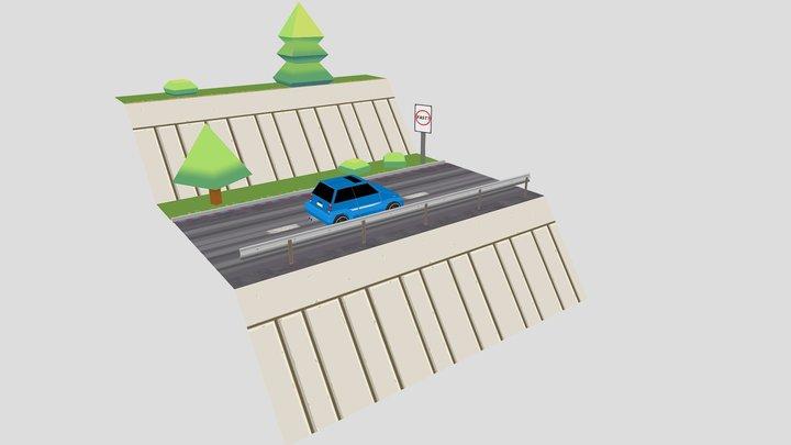Honda City 3D Model