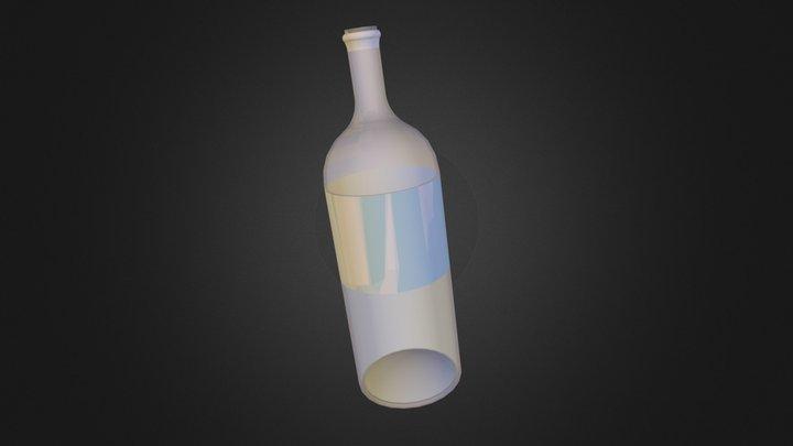 Bouteille Geante Pub 3D Model
