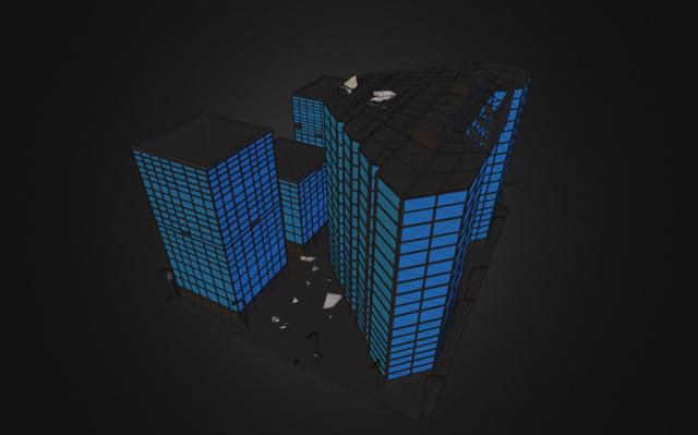 district13 3D Model