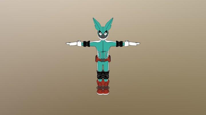 Deku Masked 3D Model