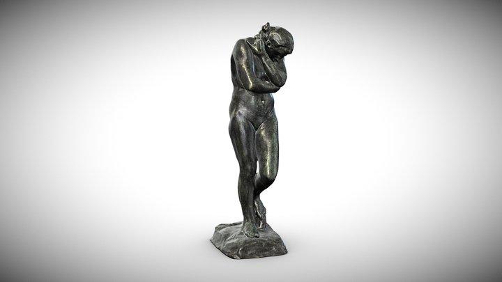 Plastic »EVA« Auguste Rodin (1881) 3D Model