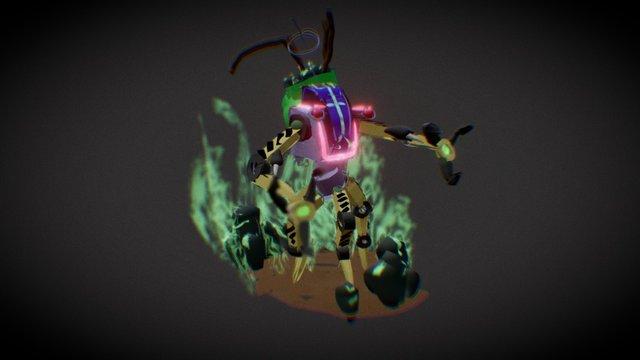 robot #7 3D Model