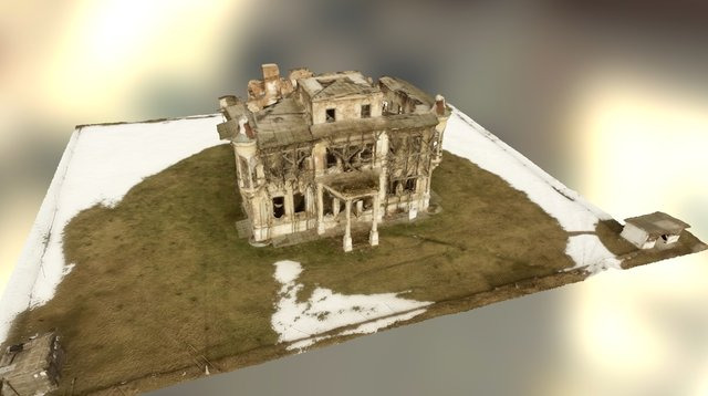 Bolomey Mansion, second take 3D Model