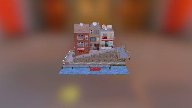 cityscene - Istanbul , Turkey 3D Model