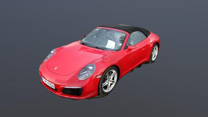 Porsche 911 photogrammetry 3D Model