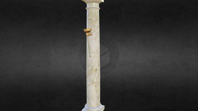 Pillar Torch 3D Model