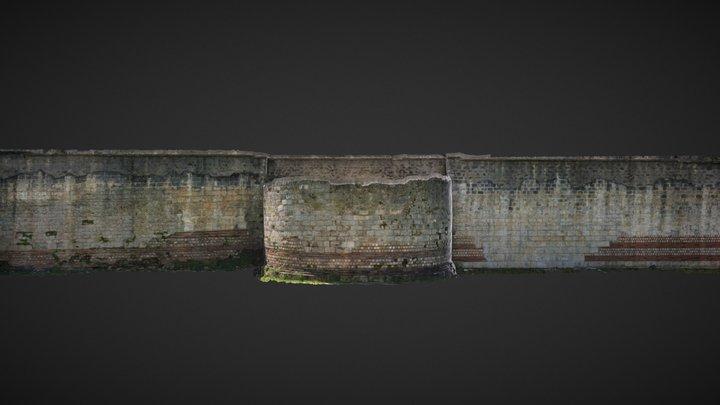 Ancient enclosure, Orléans, France 3D Model