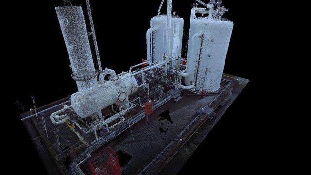 3D Point Cloud - VRU 3D Model
