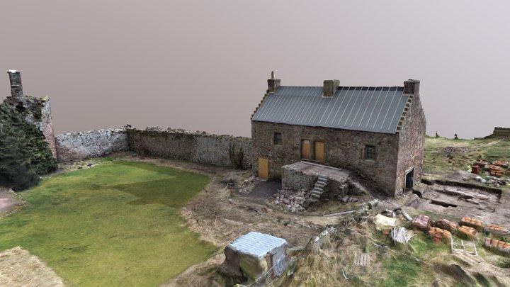 Garleton - Castle 3D Model