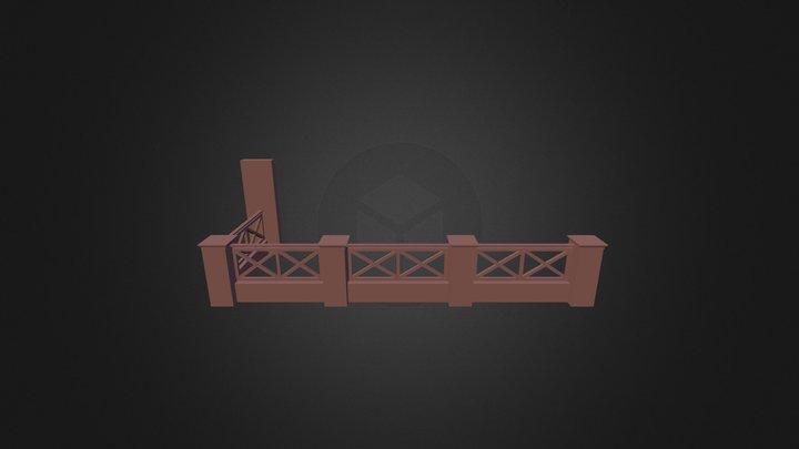Baranda2 3D Model