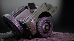 Morsel - Half-eaten vehicle 3D Model
