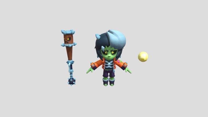 Zombibi 3D Model