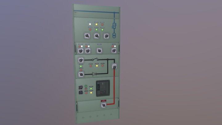 Switchboard 3D Model