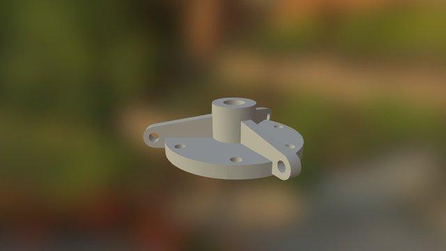 Tanker Cap 3D Model