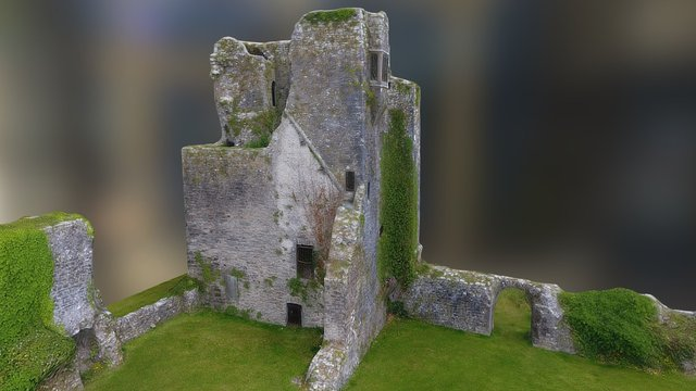 Granny Castle 3D Model