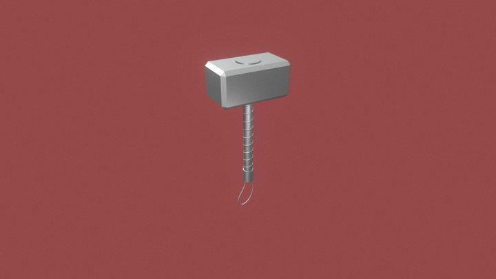 Mjolnir (martelo do Thor) - W.I.P. 3D Model