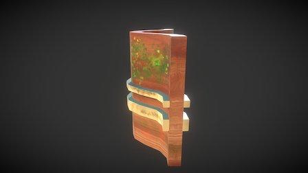 Wall Insidecurve Lines 3D Model