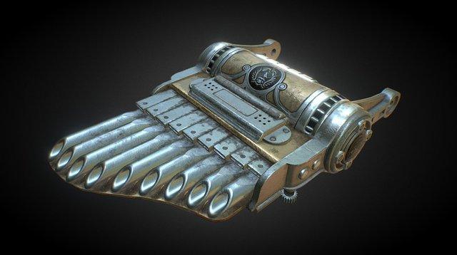 The Whistler - Bioshock Infinite Fan Art 3D Model
