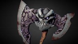 [Fanart] Darksiders II - Kingdom of The Dead Axe 3D Model