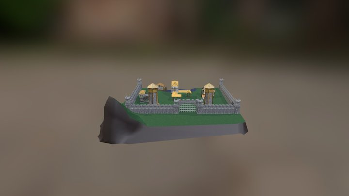 Minimap Age of Empires 2 3D Model