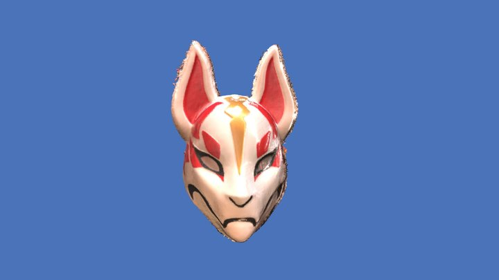 Fortnite drift mask 3D Model